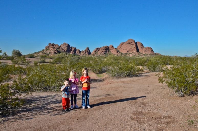 Kids enjoying some sunshine!
